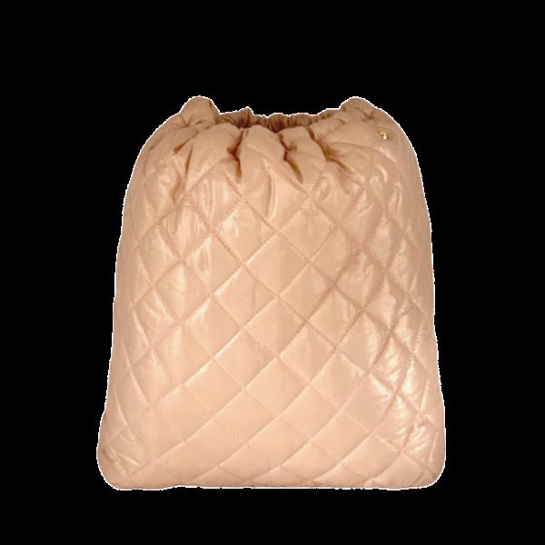 Pouf Max - Soft Pink Nylon
