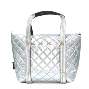 The Reversible Carryall - Silver/Black
