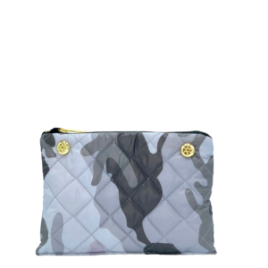 Reversible Pouch - Red/Grey Camo