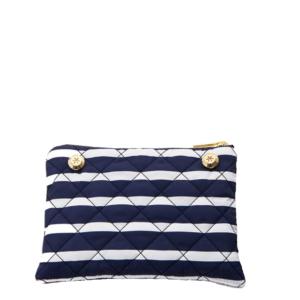 Reversible Pouch - Stripe / Navy