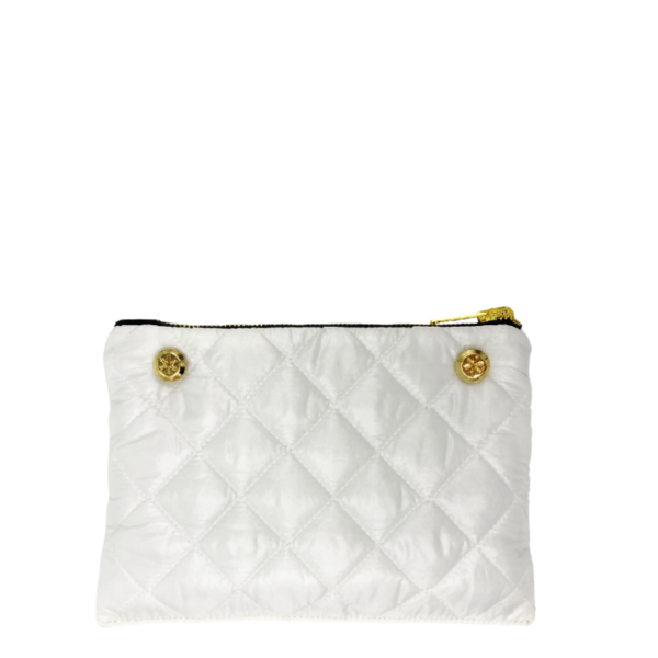Reversible Pouch - White / Black
