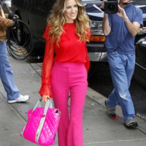 The Reversible Carryall -  Neon Pink/Black Bag & Logo Webbing Tote Handle