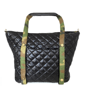 The Reversible Carryall Weekender - Camo/Black Bag & Camo/Black Tote Handle